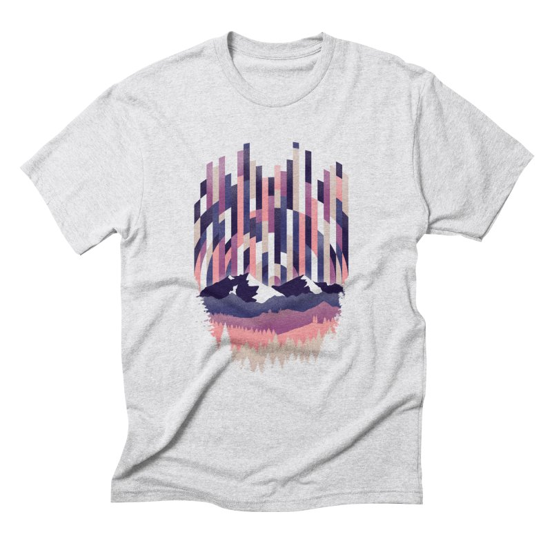Sunrise in Vertical - Winter Dawn Men's Triblend T-Shirt by Dianne Delahunty's Artist Shop