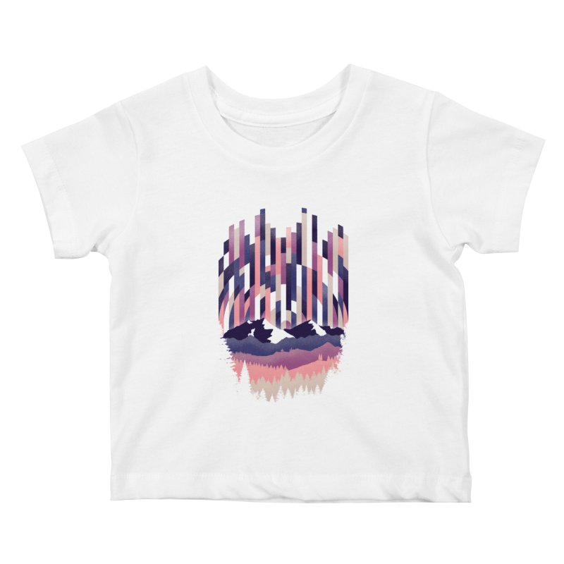 Sunrise in Vertical - Winter Dawn Kids Baby T-Shirt by Dianne Delahunty's Artist Shop