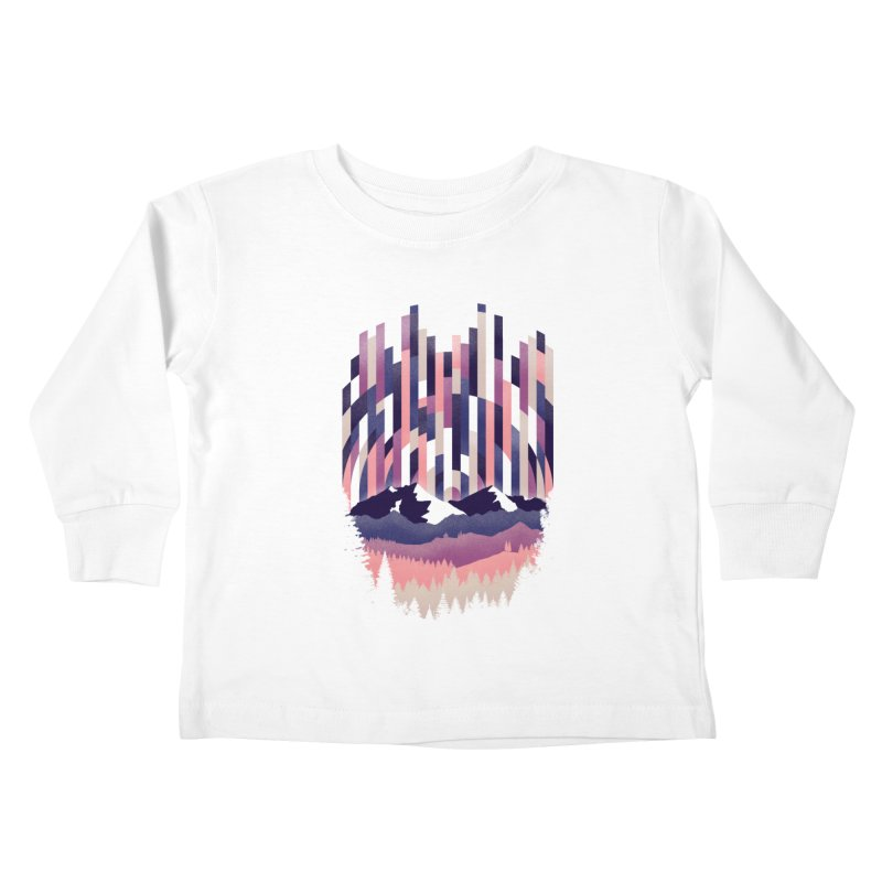 Sunrise in Vertical - Winter Dawn Kids Toddler Longsleeve T-Shirt by Dianne Delahunty's Artist Shop
