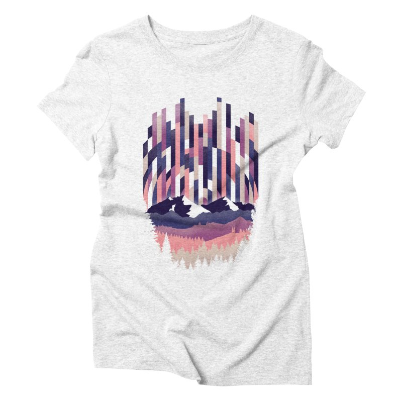 Sunrise in Vertical - Winter Dawn Women's Triblend T-shirt by Dianne Delahunty's Artist Shop