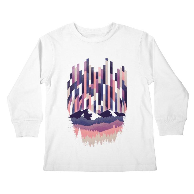 Sunrise in Vertical - Winter Dawn Kids Longsleeve T-Shirt by Dianne Delahunty's Artist Shop
