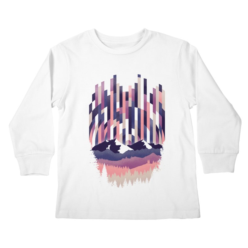 Sunrise in Vertical - Winter Dawn Kids Longsleeve T-Shirt by Dianne Delahunty's Artist Shop