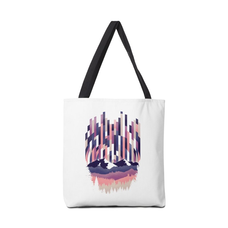 Sunrise in Vertical - Winter Dawn Accessories Tote Bag Bag by Dianne Delahunty's Artist Shop