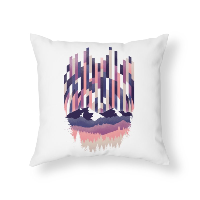 Sunrise in Vertical - Winter Dawn Home Throw Pillow by Dianne Delahunty's Artist Shop