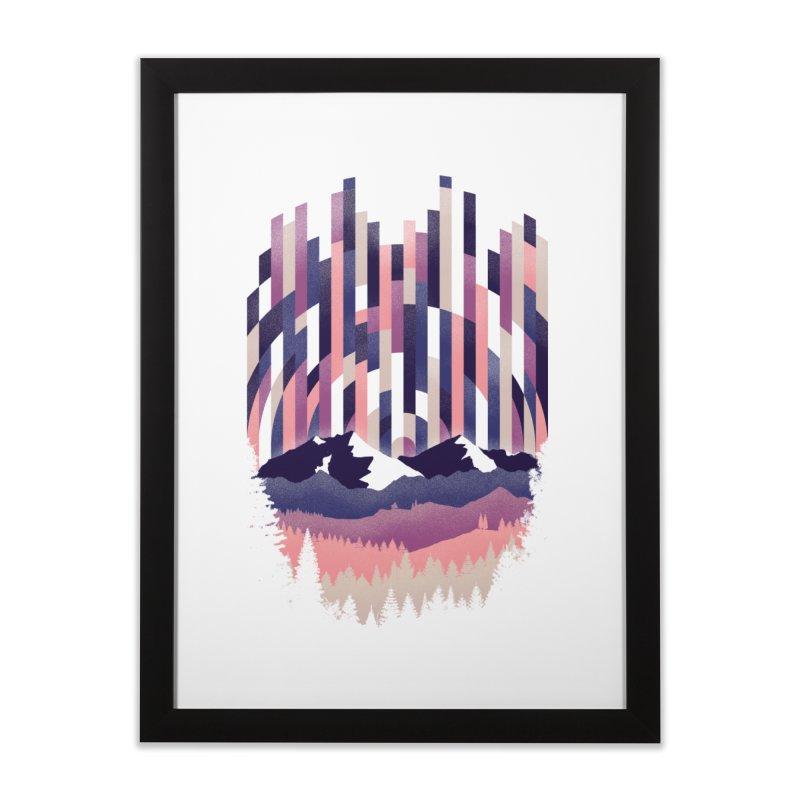 Sunrise in Vertical - Winter Dawn Home Framed Fine Art Print by Dianne Delahunty's Artist Shop