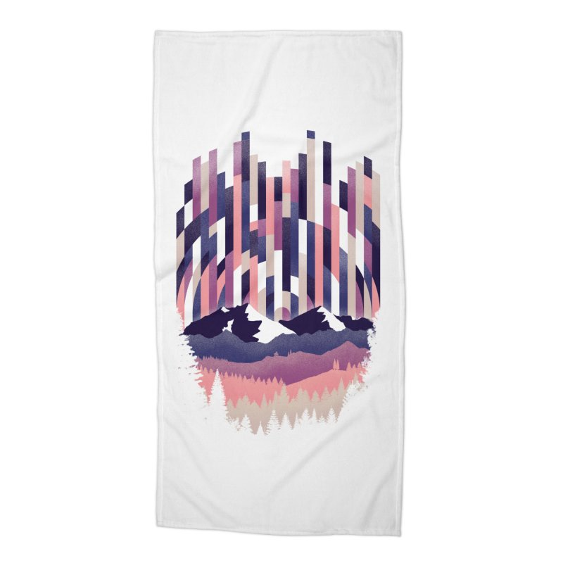 Sunrise in Vertical - Winter Dawn Accessories Beach Towel by Dianne Delahunty's Artist Shop