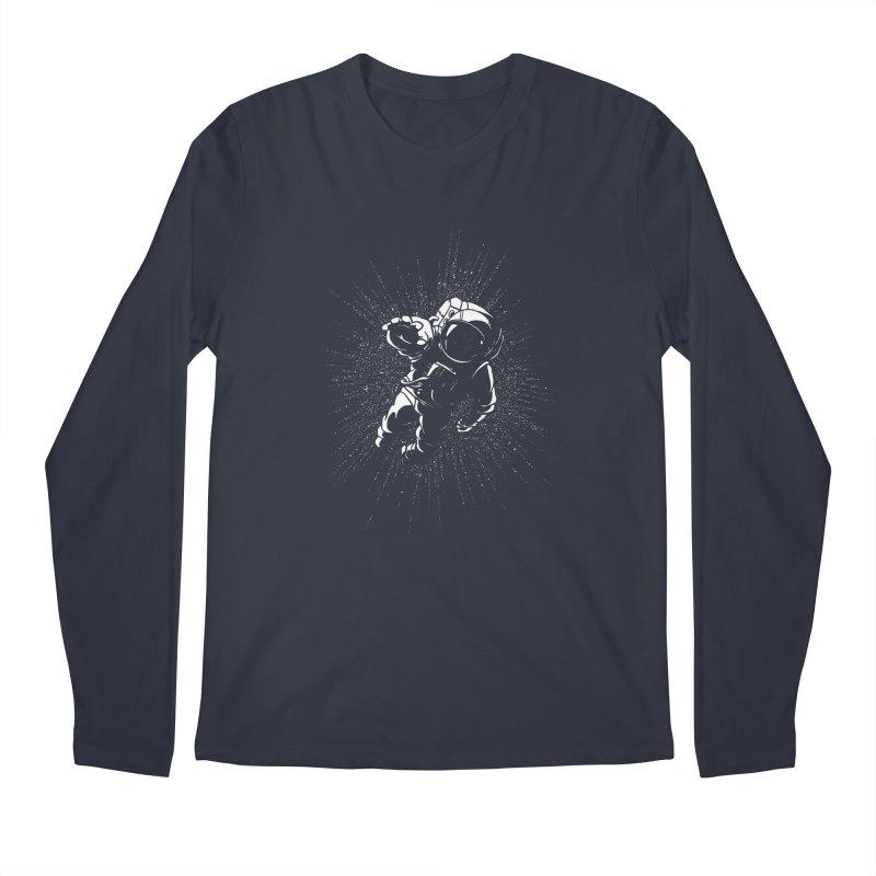 Plummet Men's Regular Longsleeve T-Shirt by Dianne Delahunty's Artist Shop