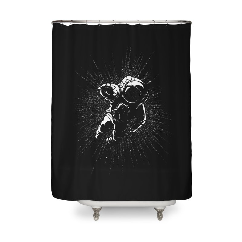 Plummet Home Shower Curtain by Dianne Delahunty's Artist Shop