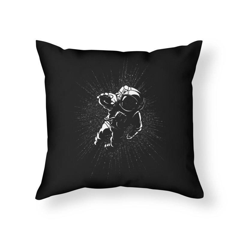 Plummet Home Throw Pillow by Dianne Delahunty's Artist Shop
