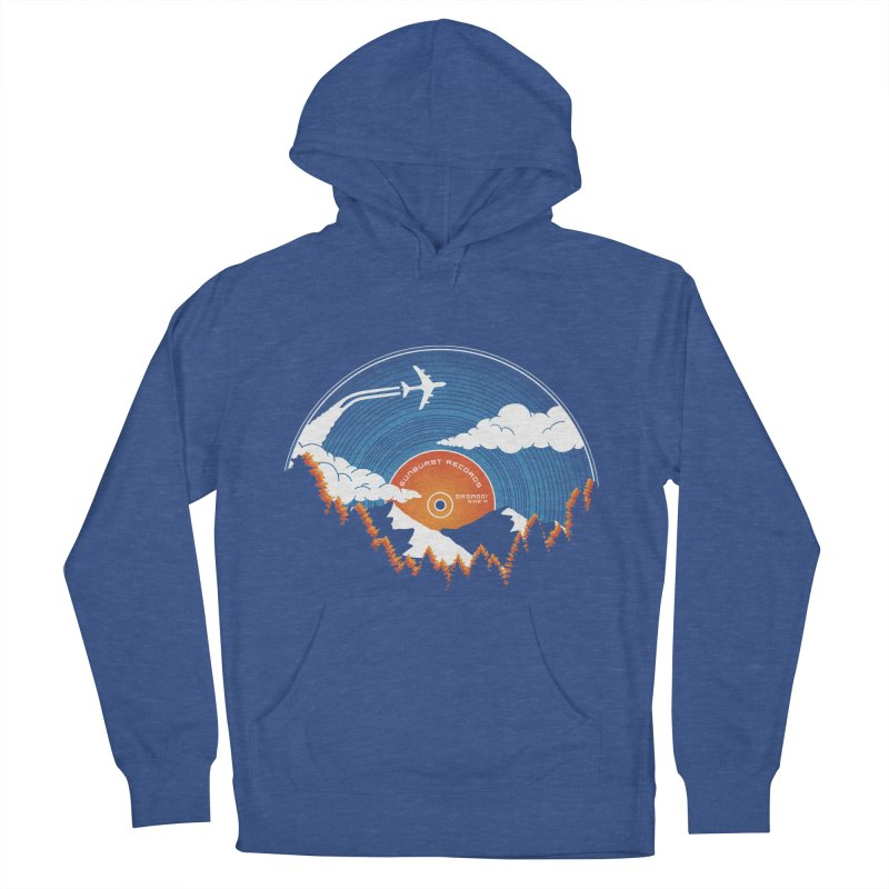 Sunburst Records Redux Women's Pullover Hoody by Dianne Delahunty's Artist Shop