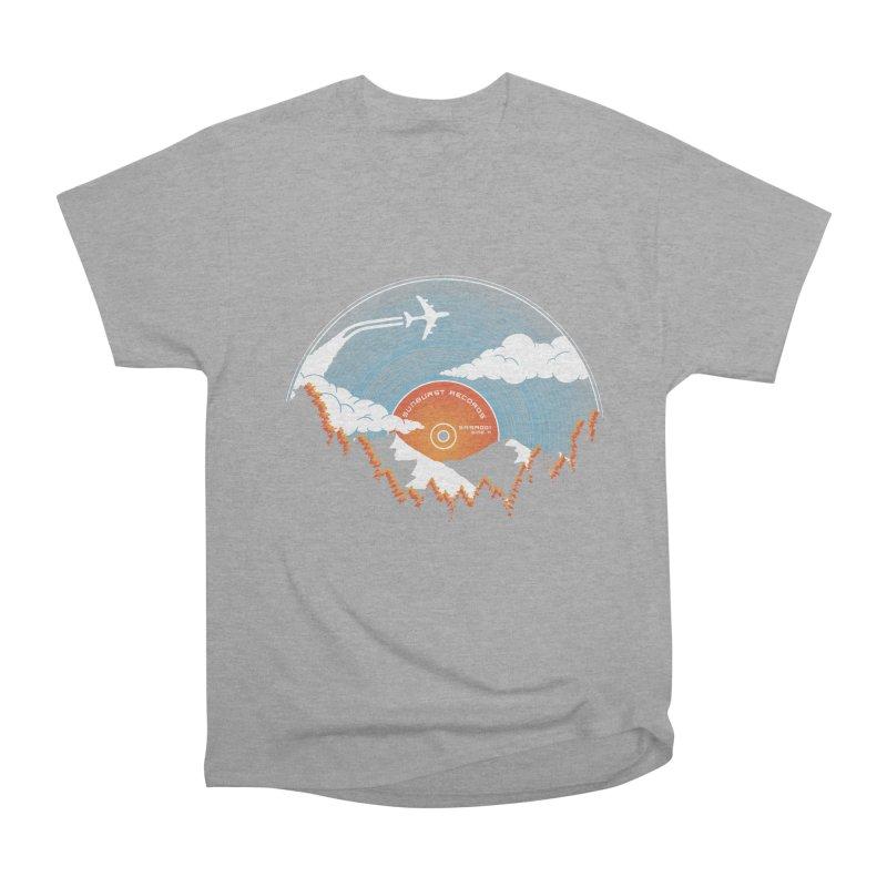 Sunburst Records Redux Men's Heavyweight T-Shirt by Dianne Delahunty's Artist Shop