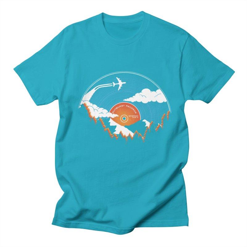 Sunburst Records Redux Men's T-Shirt by Dianne Delahunty's Artist Shop
