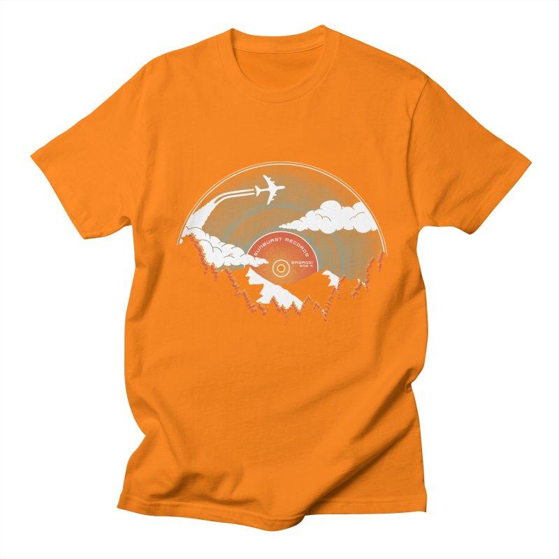 Sunburst Records Redux Women's Unisex T-Shirt by Dianne Delahunty's Artist Shop