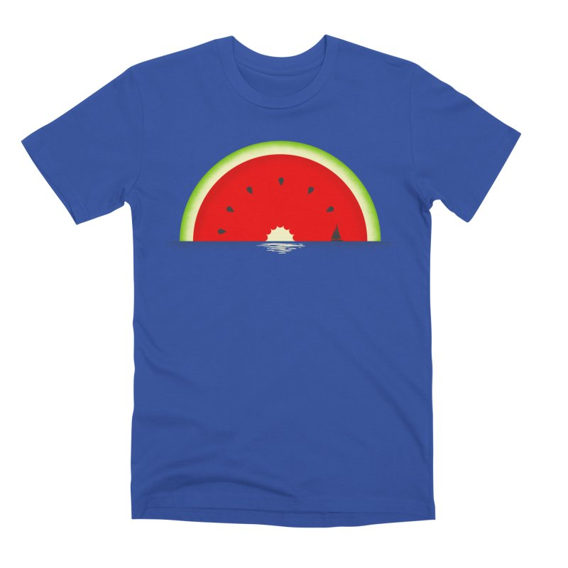Melon Over Water Men's Premium T-Shirt by Dianne Delahunty's Artist Shop