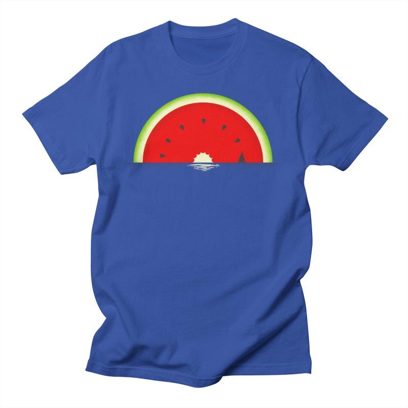 Melon Over Water Women's Regular Unisex T-Shirt by Dianne Delahunty's Artist Shop