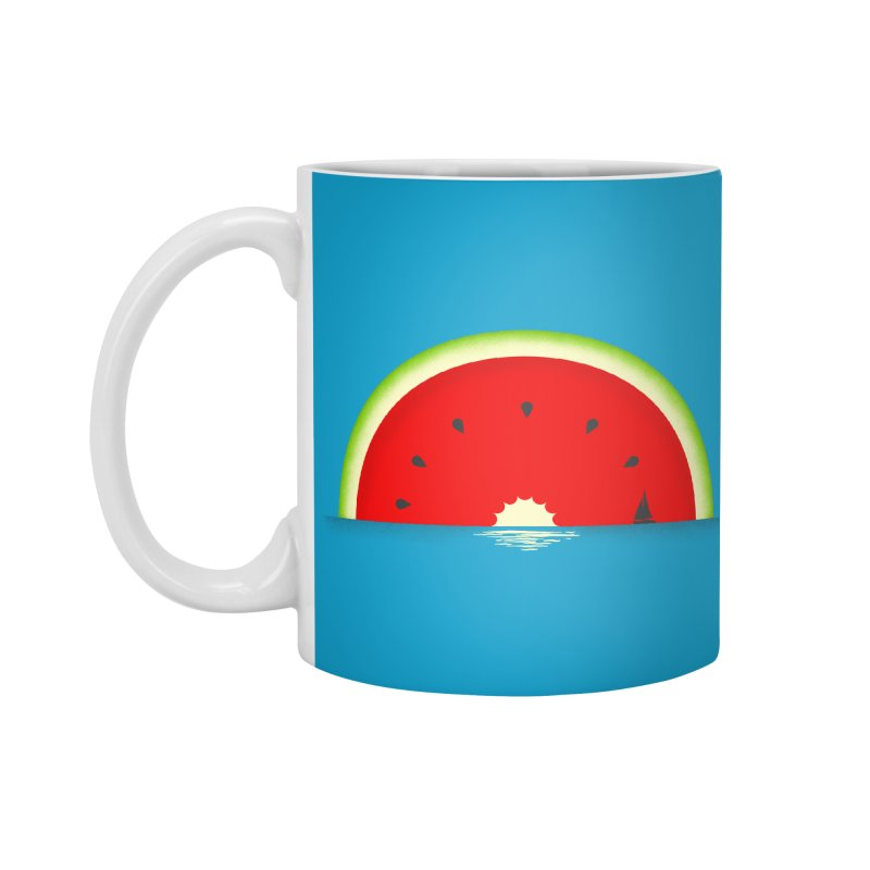 Melon Over Water Accessories Mug by Dianne Delahunty's Artist Shop