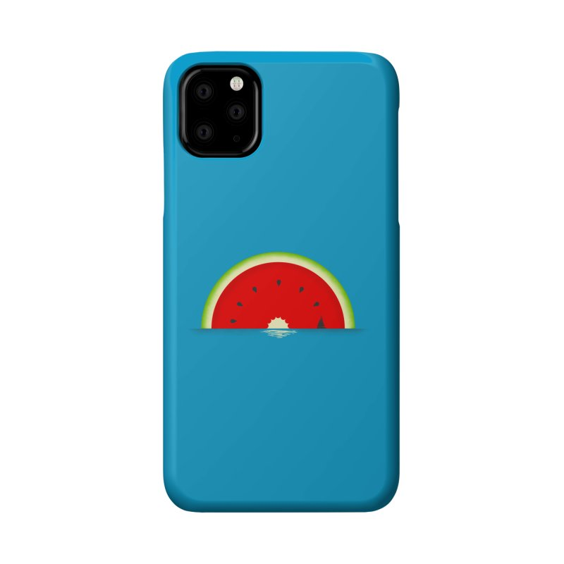 Melon Over Water Accessories Phone Case by Dianne Delahunty's Artist Shop