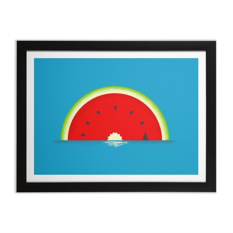 Melon Over Water Home Framed Fine Art Print by Dianne Delahunty's Artist Shop