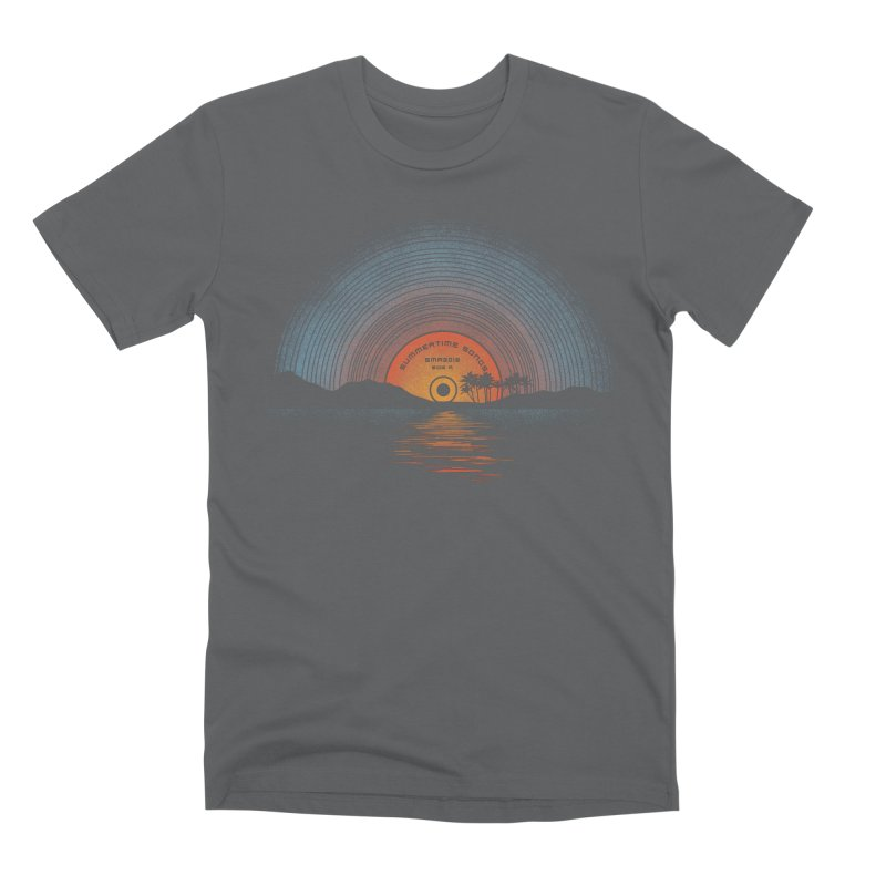 Sound Of Summer Men's Premium T-Shirt by Dianne Delahunty's Artist Shop