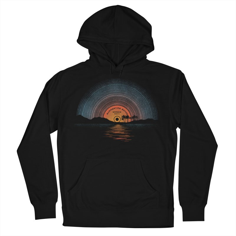 Sound Of Summer Women's French Terry Pullover Hoody by Dianne Delahunty's Artist Shop