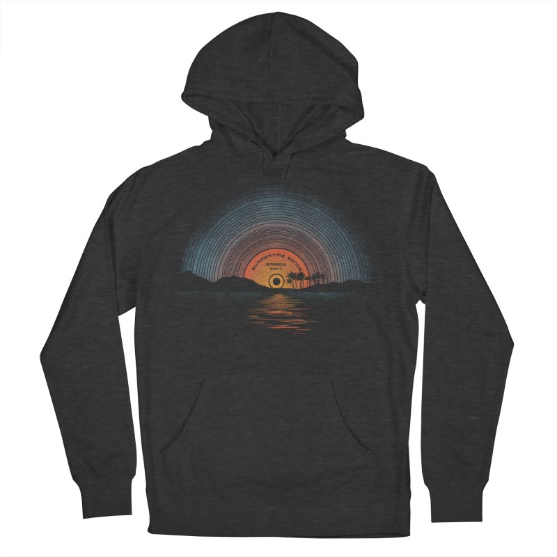 Sound Of Summer Men's French Terry Pullover Hoody by Dianne Delahunty's Artist Shop