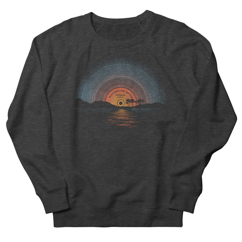Sound Of Summer Women's French Terry Sweatshirt by Dianne Delahunty's Artist Shop