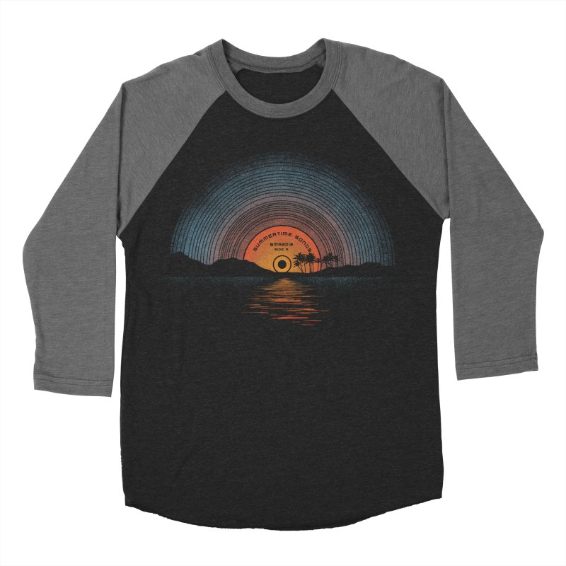 Sound Of Summer Women's Baseball Triblend Longsleeve T-Shirt by Dianne Delahunty's Artist Shop