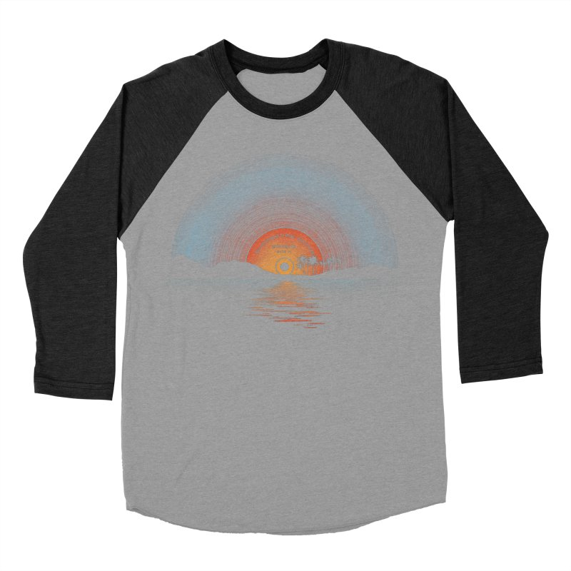 Sound Of Summer Women's Baseball Triblend Longsleeve T-Shirt by Dianne Delahunty's Artist Shop