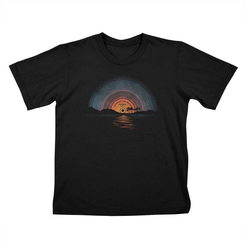 Sound Of Summer Kids T-Shirt by Dianne Delahunty's Artist Shop