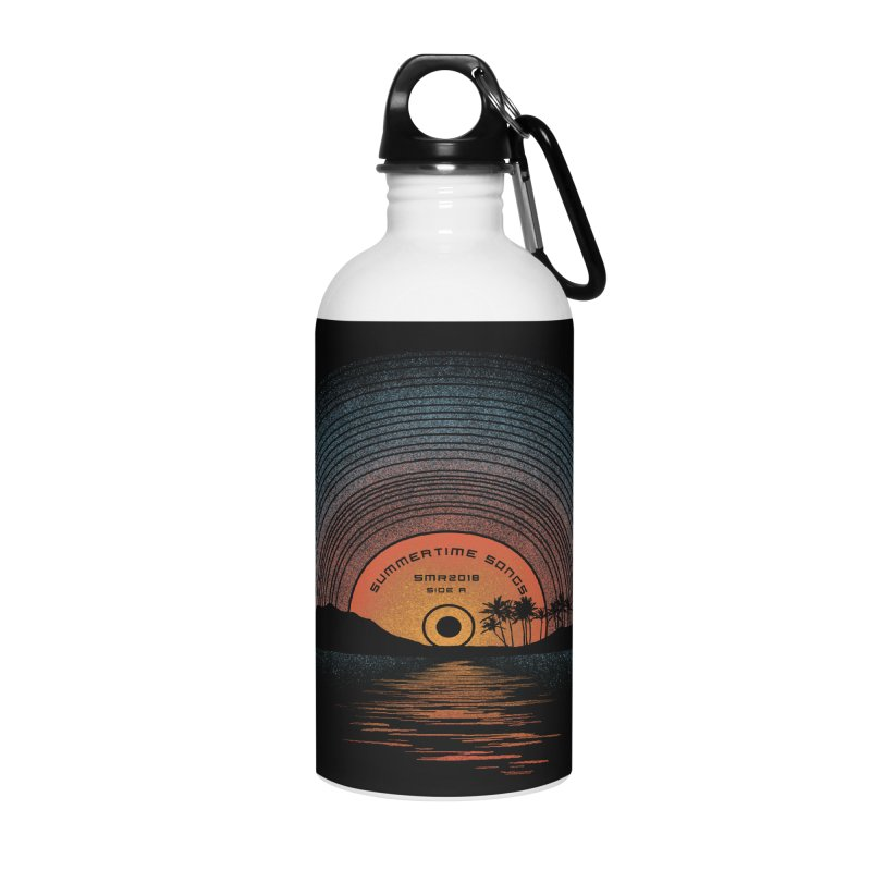 Sound Of Summer Accessories Water Bottle by Dianne Delahunty's Artist Shop