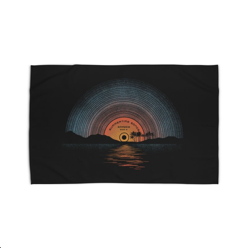Sound Of Summer Home Rug by Dianne Delahunty's Artist Shop