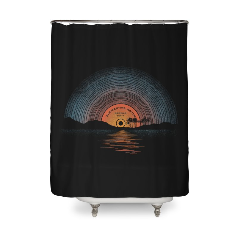 Sound Of Summer Home Shower Curtain by Dianne Delahunty's Artist Shop