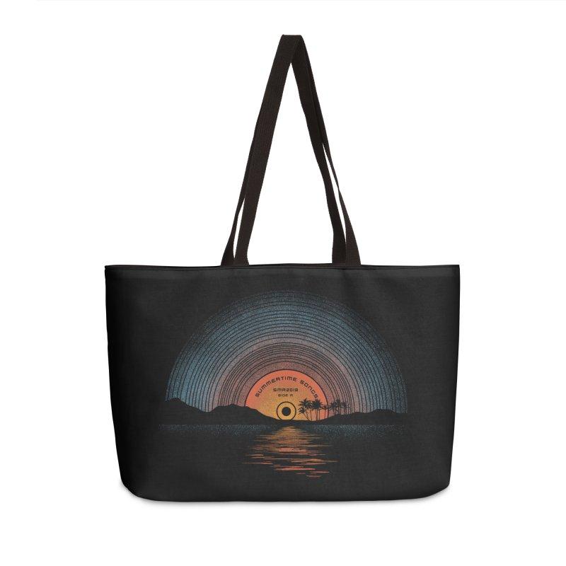 Sound Of Summer Accessories Weekender Bag Bag by Dianne Delahunty's Artist Shop
