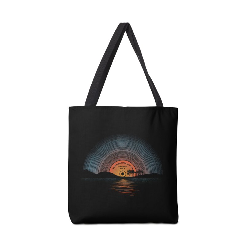Sound Of Summer Accessories Tote Bag Bag by Dianne Delahunty's Artist Shop