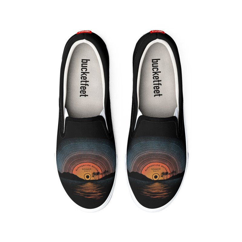 Sound Of Summer Men's Shoes by Dianne Delahunty aka digsy