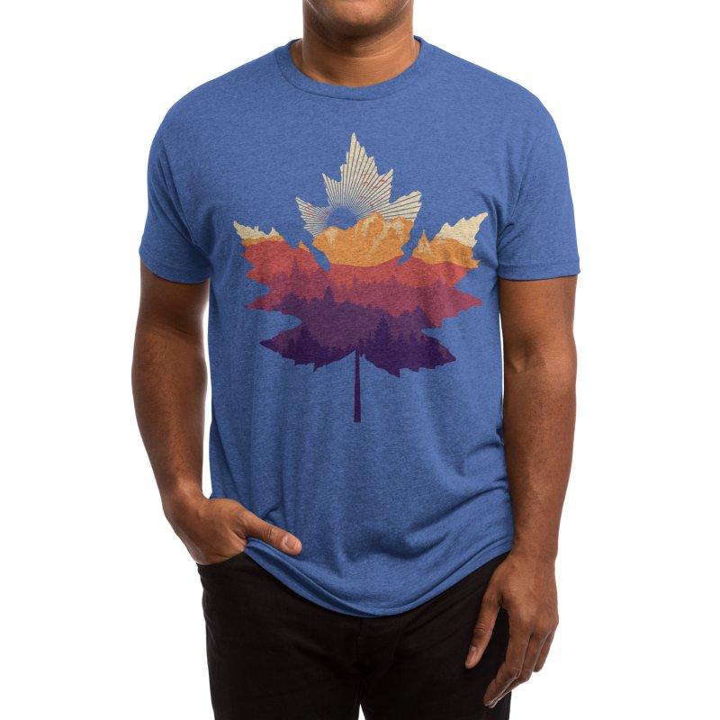 Leafscape Men's T-Shirt by Dianne Delahunty aka digsy