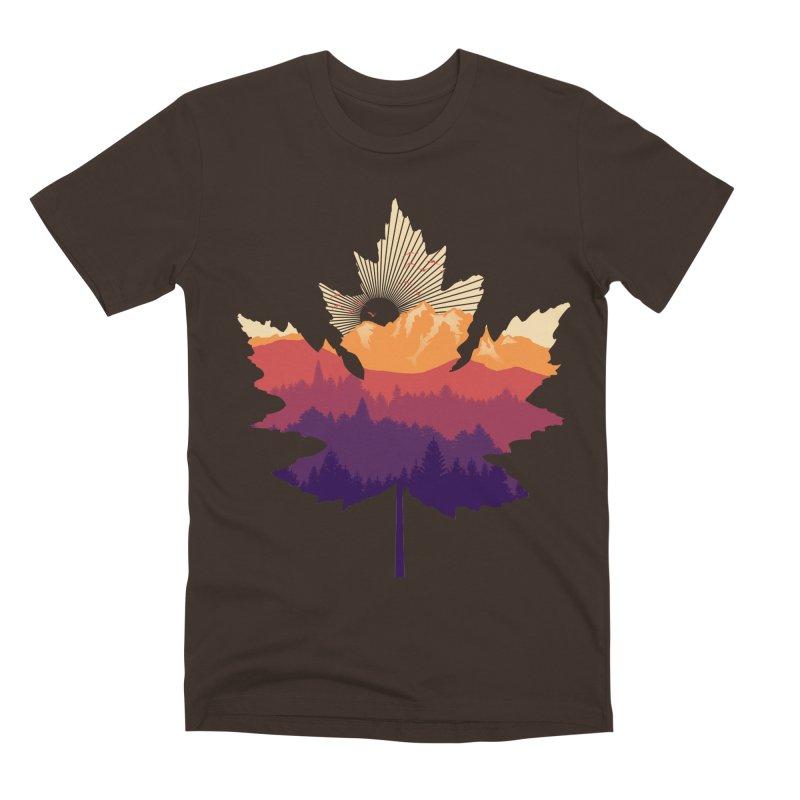 Leafscape Men's Premium T-Shirt by Dianne Delahunty's Artist Shop