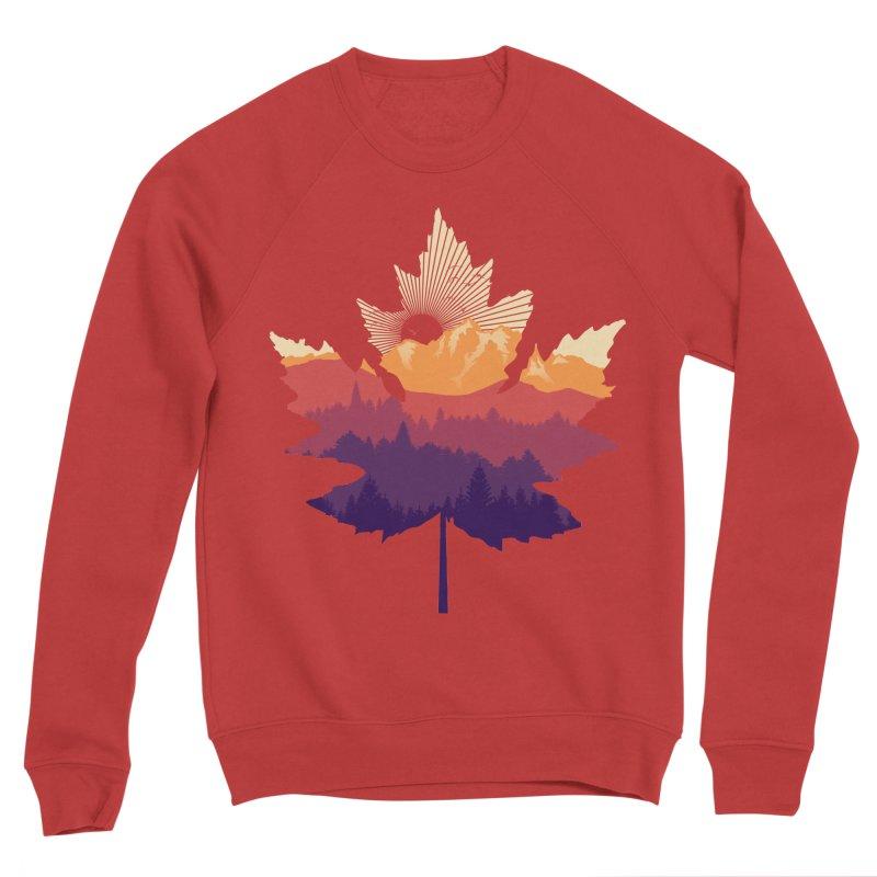 Leafscape Women's Sponge Fleece Sweatshirt by Dianne Delahunty's Artist Shop