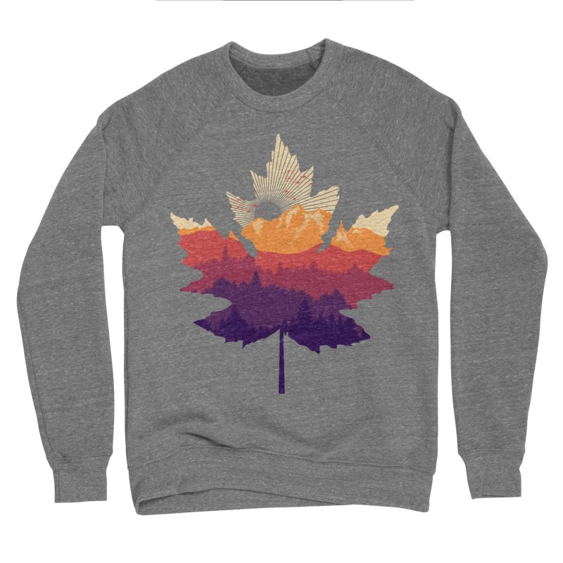 Leafscape Men's Sponge Fleece Sweatshirt by Dianne Delahunty's Artist Shop