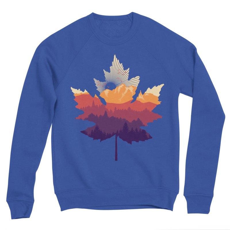 Leafscape Men's Sponge Fleece Sweatshirt by Dianne Delahunty's Artist Shop