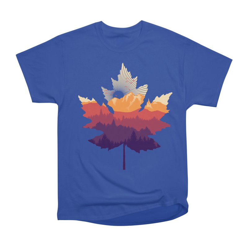 Leafscape Women's Heavyweight Unisex T-Shirt by Dianne Delahunty's Artist Shop