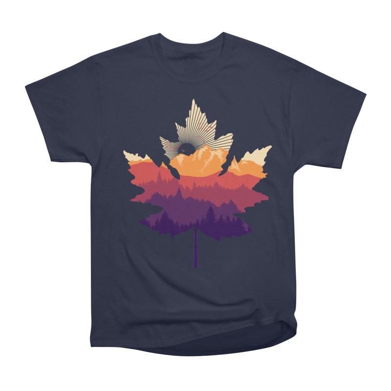 Leafscape Men's Heavyweight T-Shirt by Dianne Delahunty's Artist Shop