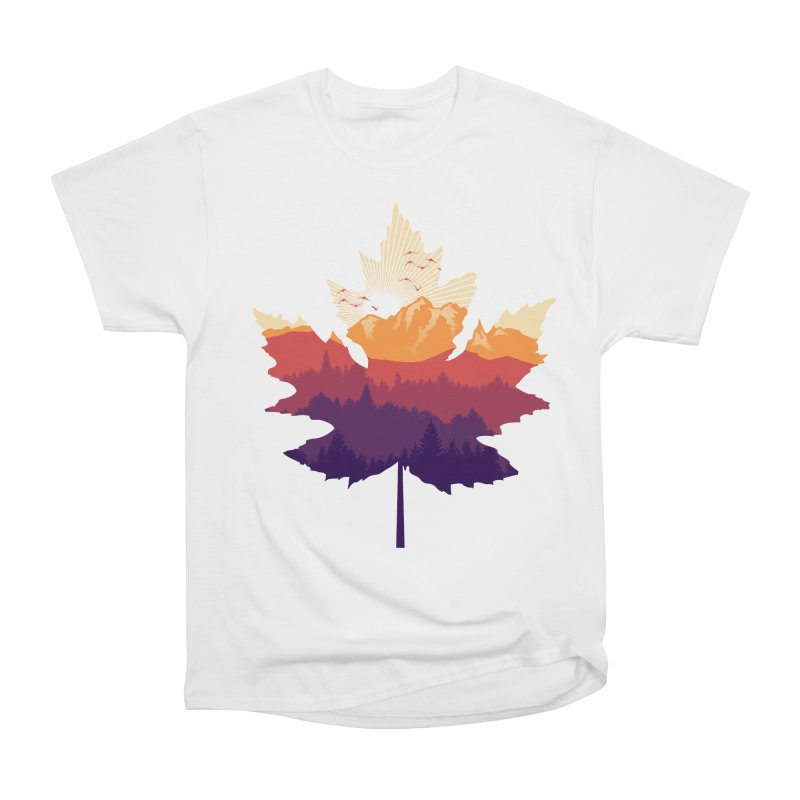Leafscape Women's Heavyweight Unisex T-Shirt by Dianne Delahunty's Artist Shop