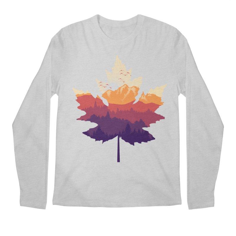 Leafscape Men's Regular Longsleeve T-Shirt by Dianne Delahunty's Artist Shop