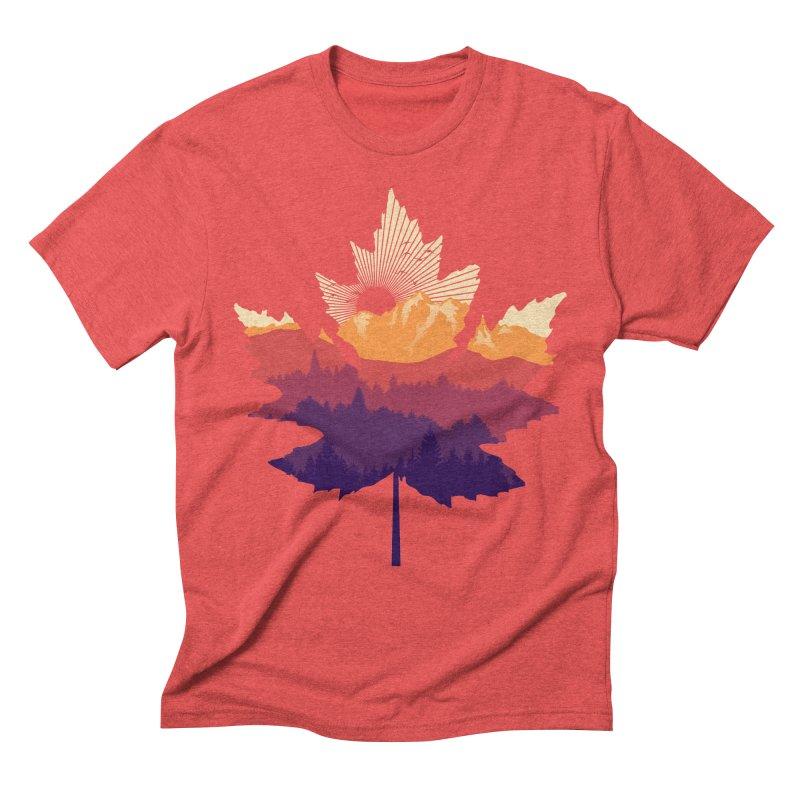 Leafscape Men's Triblend T-Shirt by Dianne Delahunty's Artist Shop