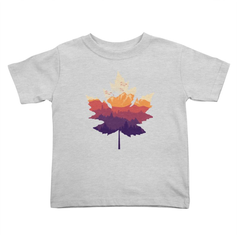 Leafscape Kids Toddler T-Shirt by Dianne Delahunty's Artist Shop