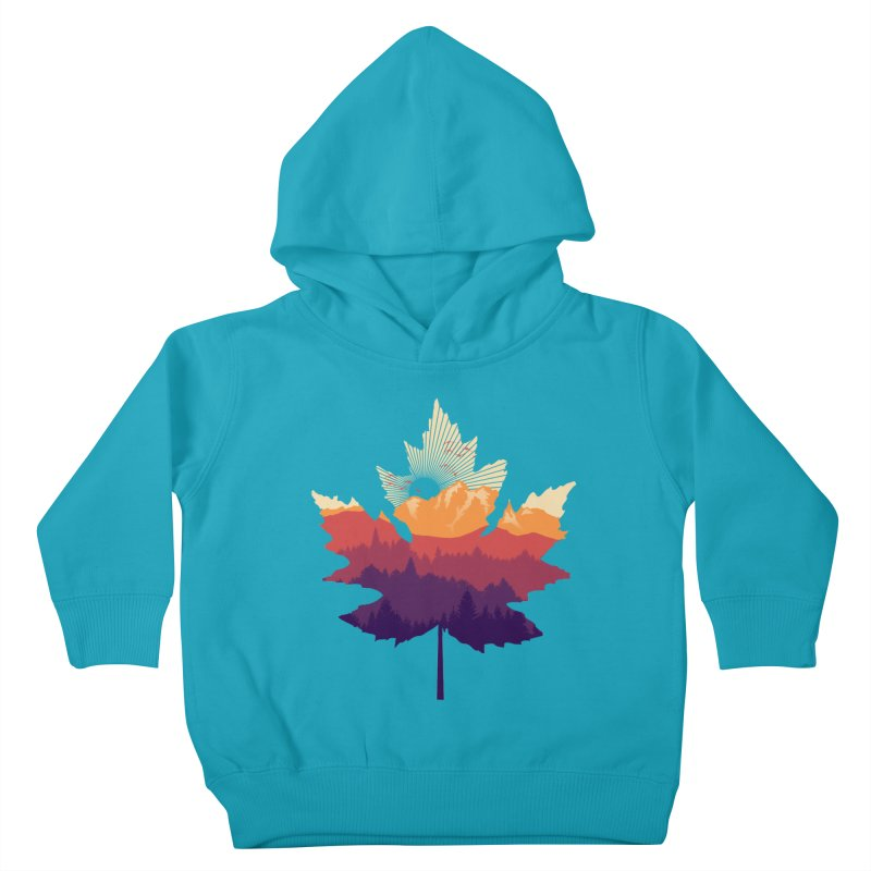 Leafscape Kids Toddler Pullover Hoody by Dianne Delahunty's Artist Shop