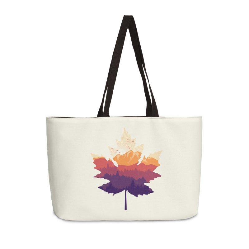 Leafscape Accessories Weekender Bag Bag by Dianne Delahunty's Artist Shop