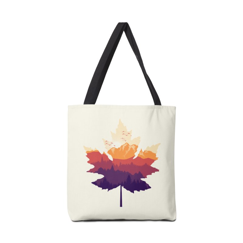 Leafscape Accessories Bag by Dianne Delahunty's Artist Shop