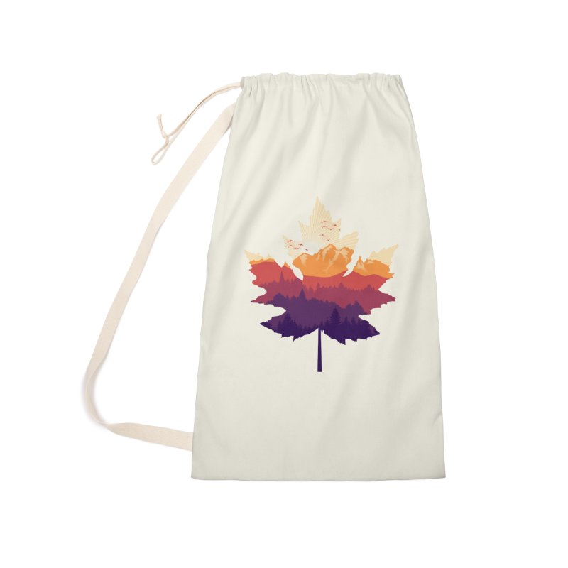 Leafscape Accessories Laundry Bag Bag by Dianne Delahunty's Artist Shop